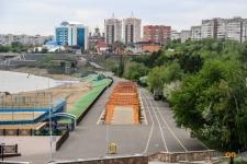 Павлодарский предприниматель предложил четко разграничить велосипедные и пешеходные зоны на набережной
