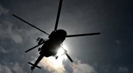 """СМИ """"уронили"""" вертолет в центре Москвы"""