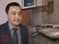Рухнувший карниз высотки в Павлодаре жильцы будут восстанавливать за свой счет