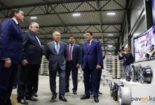 Президент Казахстана поблагодарилпавлодарских бизнесменов за хорошую работу