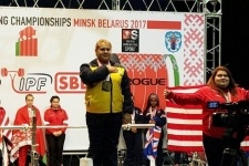 В Павлодар возвращается чемпионка мира по пауэрлифтингу
