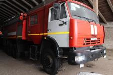 Подарок сельским пожарным