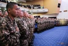Павлодарские призывники пройдут службу вэлитной Капчагайской Десантно-штурмовой бригаде