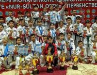 17 медалей завоевали юные павлодарские таэквондисты на столичном турнире на первенство Республики Казахстан