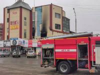 В Павлодаре горел один из крупных торговых домов