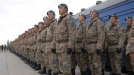 Назарбаев подписал указ об увольнении в запас солдат-срочников