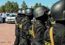 Полицейские пояснили, почему в селе Кызылкак им пришлось применить силу против местного населения