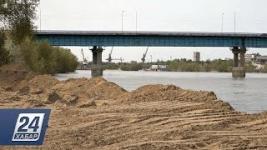 Горы щебня в пойме Иртыша: проект не согласован с экологами