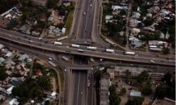 В Алматы закончились деньги на строительство транспортных развязок