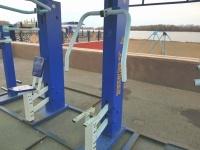 Поврежденные тренажеры восстановят на павлодарской набережной