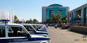 Полицейские области получили 40 новых служебных автомобилей