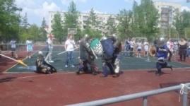 Казахстанцы устроили рыцарские бои с россиянами