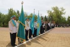 Традиционный конкурс «Равнение на флаг» прошел в Павлодаре