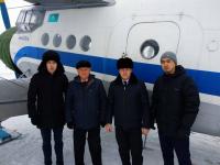 Благодаря санитарной авиации в Павлодаре спасли жизнь подростка с подозрением на инсульт имладенца