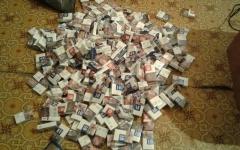 В Прииртышье задержали мужчину похитившего сигареты на 530 тысяч тенге