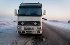 Успенские спасатели пришли на помощь замерзающим дальнобойщикам