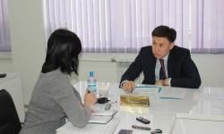 Большинство вопросов, с которыми бизнесмены обращаются к акиму Павлодара, связано с земельными отношениями