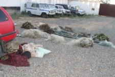 Пьяного рыбака с сетями и уловом задержали полицейские в Павлодарской области