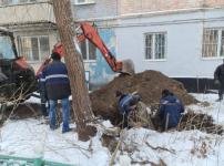 Две аварии на сетях водоснабжения произошли в Павлодаре