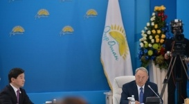 Назарбаев предчувствует грядущие глобальные испытания для Казахстана и мира