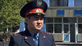 За спасение человека молодого полицейского из Павлодара представили к награде