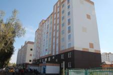В новом микрорайоне Сарыарка сдали дом из железобетонных конструкций