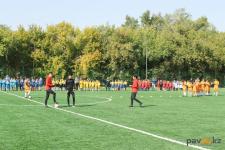 На отремонтированном стадионе павлодарской школы смогут играть в футбол жители близлежащих домов