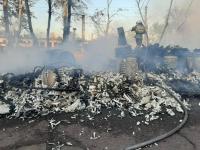 В Экибастузе сгорели трансформаторные подстанции
