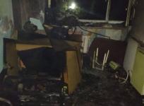 Трое жителей Экибастуза едва не сгорели в квартире многоэтажки