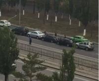 В Павлодаре произошло массовое ДТП