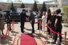 Новый салон красоты открыли в Павлодаре при участии акима города