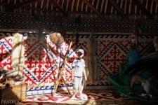 Большую игровую зону готовят для детей организаторыфестиваля «Ұлы дала елі»