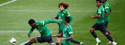 В первом матче ЧМ-2014 по футболу Бразилия победила Хорватию