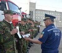 Павлодарские спасатели выучили английский язык для работы на ЭКСПО