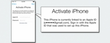 Apple iCloud Активация