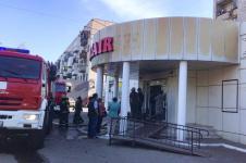 Социальный магазин горел в Павлодаре