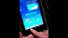 Проблемы с сенсором в планшете