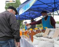 На плохое подсолнечное масло, купленное на субботней сельскохозяйственной ярмарке в Павлодаре, пожаловался покупатель