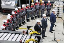 В Павлодаресостоялся запуск производства легированного алюминия