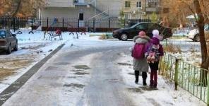 В Павлодаре неожиданно наступила зима