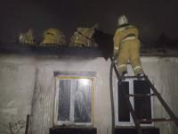 В Павлодарской области при пожаре обнаружены трупы двух мужчин