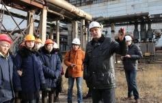 Студенты-экологи посетили ТЭЦ АО «Алюминий Казахстана», входящую в состав Евразийской Группы (ERG) в Павлодаре