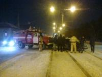 В Павлодаре произошло ДТП с участием пожарной машины
