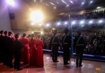Павлодарцев с Днем Конституции поздравил казахский Моцарт