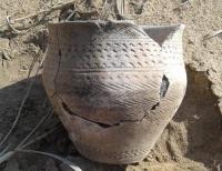 Глиняный горшок эпохи бронзового века нашел на рыбалке житель Прииртышья