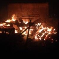 20 дачных участков сгорели в садоводстве «Металлург»