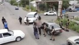 Задержание преступной группы из 10 человек попало на видео в Павлодарской области