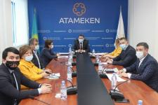 """Своими проблемами поделились с председателем """"Атамекена"""" павлодарские бизнесмены"""