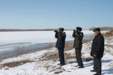 В районе Павлодара начался разлив Иртыша