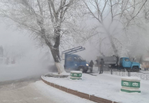Десятки домов в Павлодаре остались без тепла в мороз: аварию устранили
